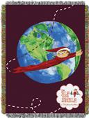 Northwest Elf Travels Woven Tapestry Throw