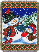 Northwest Winter Pals Woven Tapestry Throw