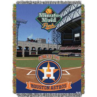 Northwest MLB Minutemaid Park Tapestry Throw