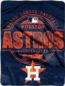 Northwest MLB Astros Structure Raschel Throw