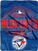 Northwest MLB Blue Jays Structure Raschel Throw