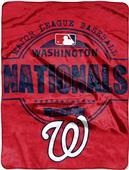 Northwest MLB Nationals Structure Raschel Throw