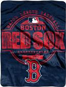 Northwest MLB Red Sox Structure Raschel Throw