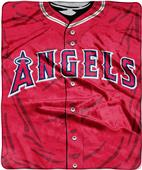 Northwest MLB Angels Jersey Raschel Throw