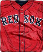 Northwest MLB Red Sox Jersey Raschel Throw