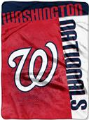 Northwest MLB Nationals Strike Raschel Throw