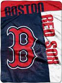 Northwest MLB Red Sox Strike Raschel Throw