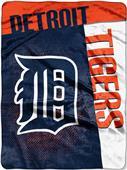 Northwest MLB Tigers Strike Raschel Throw