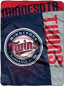 Northwest MLB Twins Strike Raschel Throw