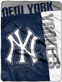 Northwest MLB Yankees Strike Raschel Throw