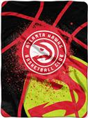 Northwest NBA Hawks Shadow Play Raschel Throw