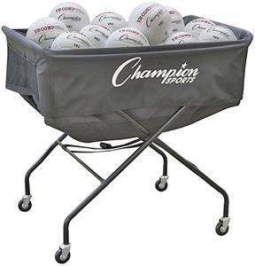 Champion Sports Mammoth Volleyball Cart Volleyball