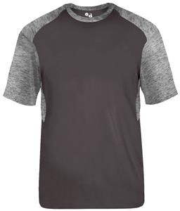 Badger Sport Adult Youth Tonal Blend Panel Tee