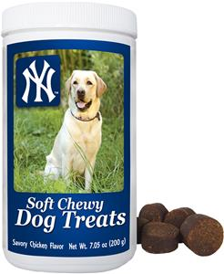 0299ed1a242 Gamewear MLB New York Yankee Soft Chewy Dog Treats - Fan Gear