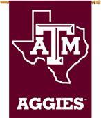 "College Texas A&M Aggies 2-Sided 28""x40"" Banner"