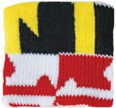 Red Lion Maryland Wristbands PAIR