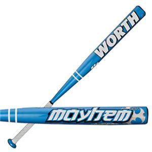 Worth Mayhem Bj Fulk Usssa Nsa Slowpitch Bats Baseball
