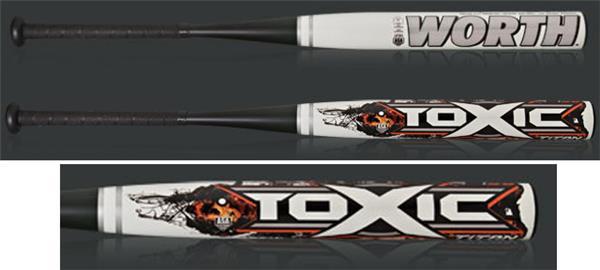 Worth Toxic Titan 100% Composite Slowpitch Bats | Epic Sports