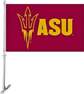 """COLLEGIATE Arizona State 2-Sided 11""""x18"""" Car Flag"""