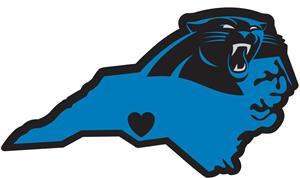 NFL Carolina Panthers Home State Decal