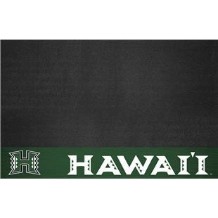 Fan Mats NCAA University of Hawaii Grill Mat