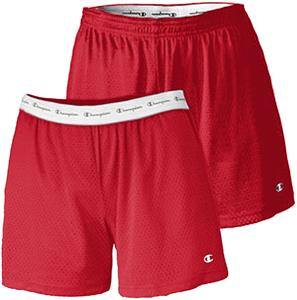 "Champion Womens Active 5"" Mesh Shorts"