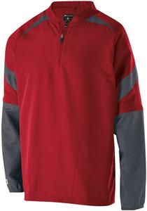 Holloway Adult Pitch Pullover Jacket