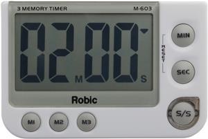 Robic Timers M603 Three Memory Timer