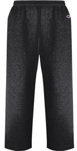 Champion Adult Powerblend Fleece Open Bottom Pants