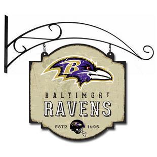 Winning Streak NFL Ravens Vintage Tavern Sign