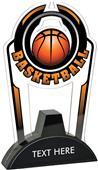"Hasty 7.5"" Epic TRUacrylic Basketball Trophy"