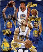 Northwest NBA Warriors Players HD Silk Touch Throw