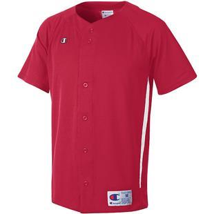 e1e36b15d Champion Prospect Full Button Custom Baseball Jersey - Baseball Equipment    Gear