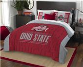 Northwest NCAA Ohio State F/Q Comforter & Shams