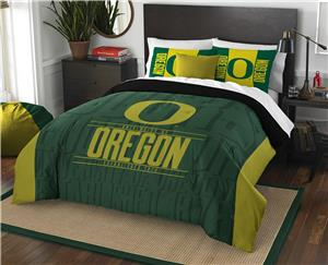 Northwest NCAA Oregon Full/Queen Comforter & Shams