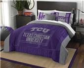 Northwest NCAA TCU Full/Queen Comforter & Shams