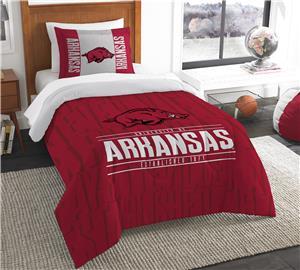 Northwest NCAA Arkansas Twin Comforter & Sham