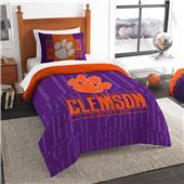 Northwest NCAA Clemson Twin Comforter & Sham
