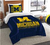 Northwest NCAA Michigan Twin Comforter & Sham