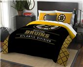 Northwest NHL Bruins Full/Queen Comforter & Shams