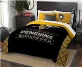 Northwest NHL Penguins Full/Queen Comforter/Shams