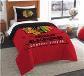 Northwest NHL Blackhawks Twin Comforter & Sham