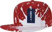 Decky Splat Snapback Cap