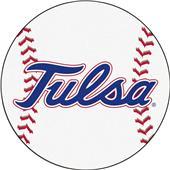 Fan Mats NCAA University of Tulsa Baseball Mat
