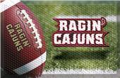 Fan Mats NCAA Louisiana-Lafayette Scraper Ball Mat