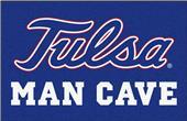 Fan Mats NCAA Univ. of Tulsa Man Cave Starter Mat
