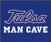 Fan Mats NCAA Univ of Tulsa Man Cave Tailgater Mat