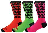 Red Lion Houndstooth Crew Socks - Closeout