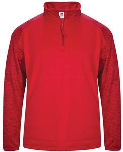 Badger Sport Adult Tonal Blend 1/4 Zip Fleece