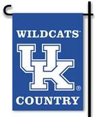 Collegiate Kentucky 2-Sided Garden Flag